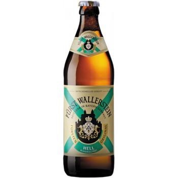 Пиво Furst Wallerstein Original Hell Alkoholfrei (Фюрст Валлерштайн Ориджинал Хель безалкогольное) светлое 0.5 х 20 ст.бут.