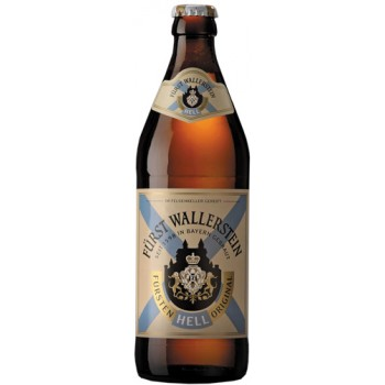 Пиво Furst Wallerstein Original Hell (Фюрст Валлерштайн Ориджинал Хель) светлое 0.5 х 20 ст.бут. алк. 5.0%