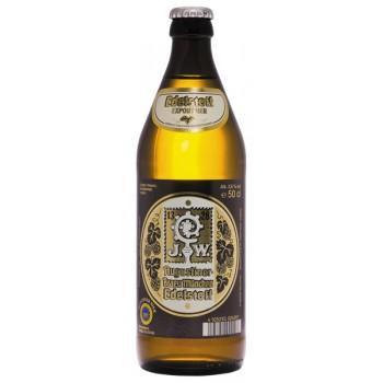 Пиво Августинер Еделштоф Экспор светлое алк. 5,6% 0,5 х 20 бут. / Германия