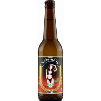 Пиво Букет Чувашии Леди-Ночь тёмное 0,45 л х 20 бут.