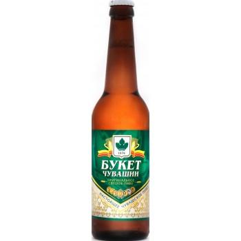 Пиво Букет Чувашии Оригинальное светлое 0,45 л х 20 бут.