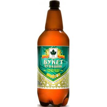 Пиво Букет Чувашии Оригинальное светлое 1,35 л х 6 ПЭТ