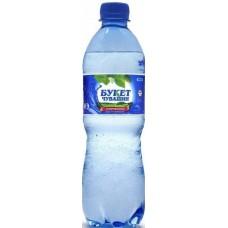 Питьевая вода газированная Букет Чувашии 0,5 x 12 бут (Букет Чувашии)