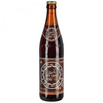 Пивной напиток Букет Чувашии Кер Сари Темное фильтрованный пастеризованный 0,5 л x 20 ст.бут.