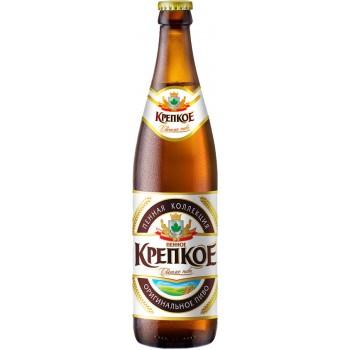 Пиво Букет Чувашии Пенное Крепкое светлое 0,45 л х 20 бут.