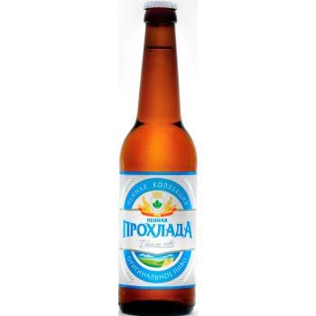 Пиво Букет Чувашии Пенная Прохлада 0,45 л х 20 бут.