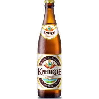 Пиво Букет Чувашии Пенное Крепкое светлое фильтрованное 0,5 л x 20 ст.бут.