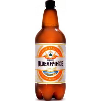 Пиво Букет Чувашии Пенное Пшеничное светлое нефильтрованное 1,35 л х 6 ПЭТ