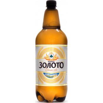 Пиво Букет Чувашии Пенное Золото 1,35 л х 6 ПЭТ