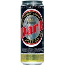 Пивной напиток Букет Чувашии Pilstone Dark (Пилстон  Дарк) 0,45 л х 24 ж/б