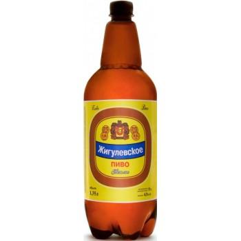 Пивной напиток Волжское жигулевское 1,35 л х 6 ПЭТ