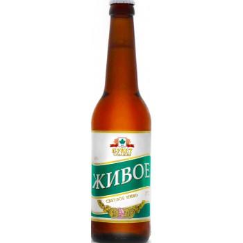 Пиво Букет Чувашии Живое светлое 0,45 л х 20 бут.