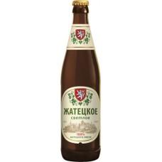 Пиво Жатецкое светлое 0,5л х20 ст.бут алк. 4.5 %