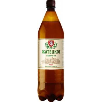 Пиво Жатецкое светлое 1.42л. ПЭТ алк. 4.5%