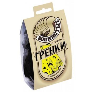 Гренки Волнистые с Сыром 0,075кг (ПЭТ/Обечайка)