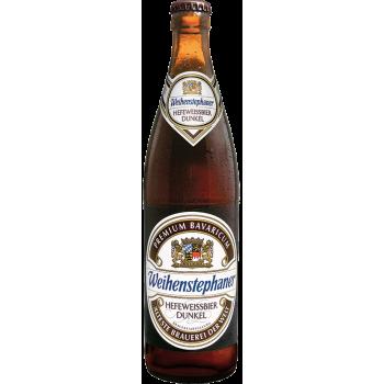 Пиво ВАЙНШТЕФАН ХЕФЕВАЙСБИР ДУНКЕЛЬ 0,5 л. х 20 ст.бут. 5,3 %/ Weihenstephan HEFEWEISSBIER DUNKEL