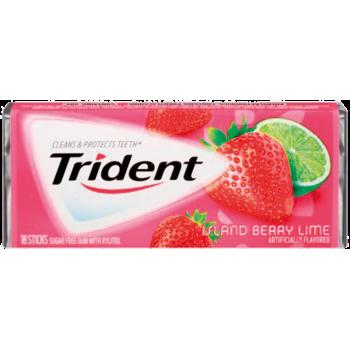 Жев. резинка Trident Island Berry Lime 1 x 12 шт. (блок) / США