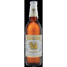 Пиво СИНГХА 0,63 л. х 12 ст.бут. алк. 5,0 % светлое фильтр. пастер./ SINGHA / Таиланд