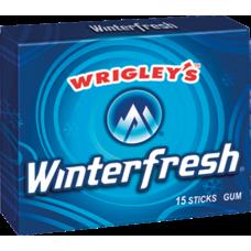Жев. резинка Wrigley`s Winterfresh (Зимняя свежесть) 1 x 10 шт. (блок) /США