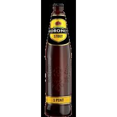 Пиво Koronet Stout тёмное 4,2 %  0,568 л. x 20 ст.бут, Лидское пиво