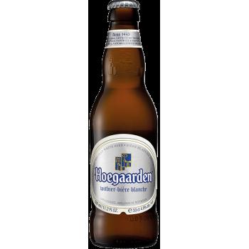 Пивной напиток Хугарден нефильтрованное 0,33*24 ст.бут 4,9%/HOEGAARDEN