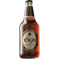 """Пивной напиток """"1698"""" светлый фильтрованный 0,5 x 8 бут. 6,5 %"""