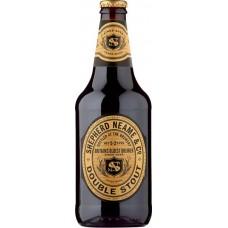 Пивной напиток Дабл Стаут темный фильтрованный 0,5 x 8 бут. 5,2 % / Double Stout