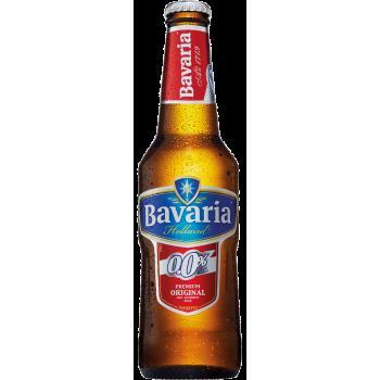 Пиво Бавария светлое б/алк. 0,33 л. х 24 ст.бут. / Bavaria, Нидерланды.