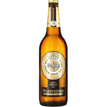 Пиво Варштайнер светлое 4,8% 0,5 л. х 24 ст.бут. 4,8%/ Warsteiner Premium Verum, Германия.