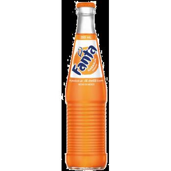 Напиток б/алк FANTA ORANGE (Апельсин) 0,355 х 24 стекл.бут (Мексика)
