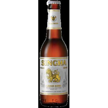 Пиво СИНГХА 0,33 л. х 24 ст.бут. алк. 5,0 % светлое пастер./ SINGHA / Таиланд
