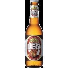Пиво ЛЕО 0,33 л. х 24 ст.бут. алк. 5,0 % светлое пастер./ LEO / Таиланд