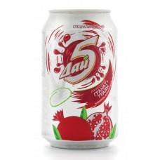 Лимонад напиток солодовый ТРАВЫ-ГРАНАТ 0,33 x 12 ж/б (Букет Чувашии)