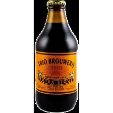 Пиво Трио Брувериж Экстра стаут тёмное 7,2 % 0,33*24 БУТ