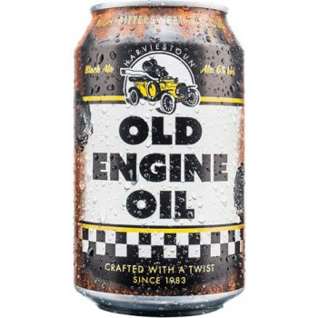 Пиво Харвистон Олд Энжин Ойл тёмное фильтрованное пастериз. 6,0 % (БАНКА) 0,33*24 / Harviestoun Old Engine Oil / Англия