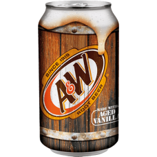Напиток б/алк A&W Root Beer 0,355 х 12, ж/б/ A&W Root Beer (США)