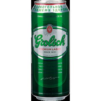 Пиво Гролш светлое (БАНКА)5% 0,5 x 24 / Grolsch Premium Lager