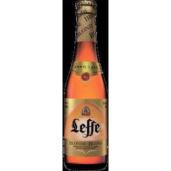 Пиво Леффе Блонде 0,33 л. х 24 ст.бут. алк.6,6% / Leffe Blonde Бельгия.