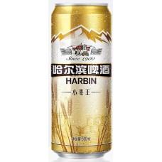 Пиво Harbin (Харбин Пшеничное) светлое нефильтрованное 0.5л ж/б (Китай)