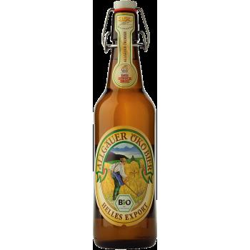 """Пиво Хиршебрауерай """"Око Бир"""" светлое экологичное 5,2 % 0,5 x 20 бут./ Allgauer Oko Bier"""