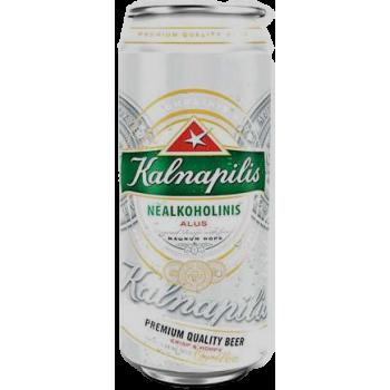 Пиво KALNAPILIS NEALKOHOLINIS Б/АЛК 0,5 x 24 БАНКА /Литва