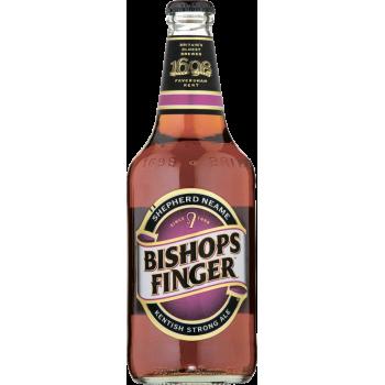 Пивной напиток Бишоп Фингер Эль алк.5,4 % ст.бут 0,5 x 12 шт./Bishops Finger