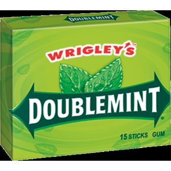 Жев. резинка Wrigley`s Doublemint (Даблминт) 1 x 10 шт. (блок) /США