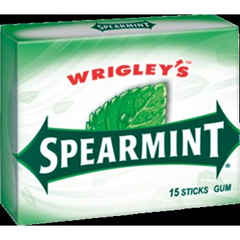 Жев. резинка Wrigley`s Spearmint (Вкус мяты) 1 x 10 шт. (блок) / США