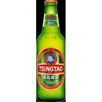 Пиво Циндао светлое 4,7% 0,33 х 24 ст.бут. / Китай