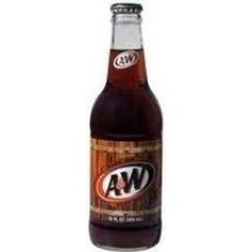 Напиток б/алк A&W Root Beer 0,355 х 24 стекл.бут (США)