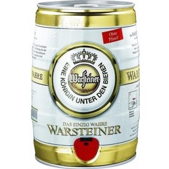 Пиво Варштайнер Премиум светлое 4,8% 5 л. (БОЧКА) / Warsteiner Premium Verum, Германия.