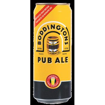 Пиво Боддингтонс Паб Эль 0.5х24 БАНКА 4,6% светлое пастер. / Boddington`s Pub Ale / Англия
