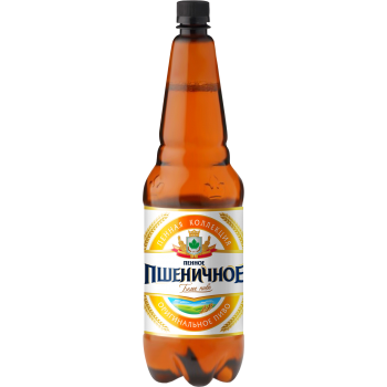 Пиво Пенное Пшеничное светлое нефильтр. 5,0 % 1,5 л. x 6 ПЭТ