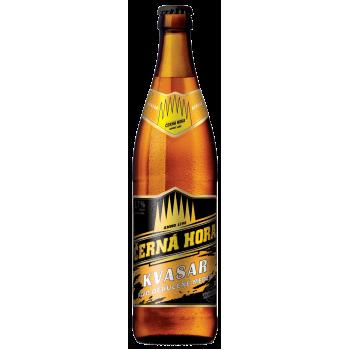 Пиво Черна Гора Квасар светлое фильтр. пастериз. 0,5x20 бут. 5,7% / Cerna Hora Kvasar / Чехия